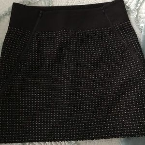 Theory Brand NWOT Tweed Lined Skirt Size 2